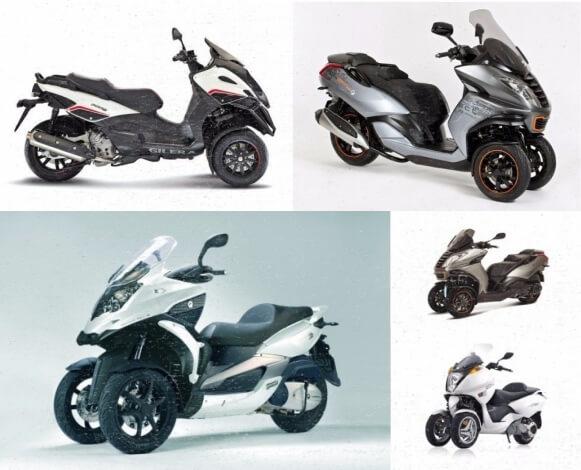 scooter de tres ruedas